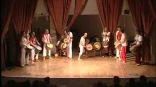Karamogo students perform Wolosodon  part 1