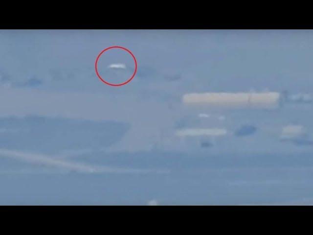 Un youtuber logra grabar las instalaciones del Área 51 y aparece un enorme OVNI