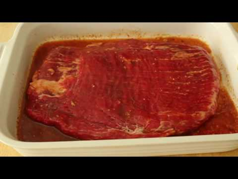 Food Wishes Recipes - Grilled Red Curry Flank Steak - Beef Flank Steak Recipe