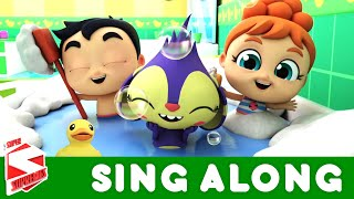 The Bath Song - Sing Along | Nursery Rhymes and Children Song | Kids Songs with Super Supremes