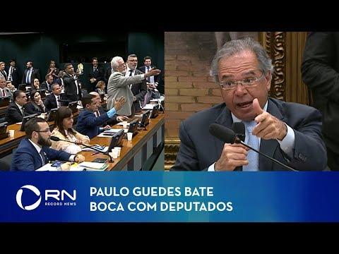 Paulo Guedes bate boca com deputados em comissão especial