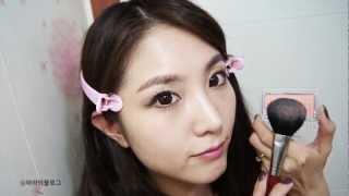 Winter Holiday MakeUp! -Sistar Bora inspired 씨스타 보라 (Korean)