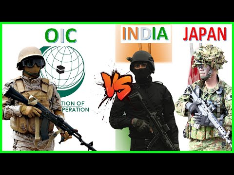 OIC vs India & Japan Military Power Comparison 2021