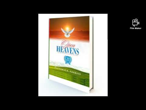 Open Heavens Devotion For Today 18th Of April 2021- Devine Contact