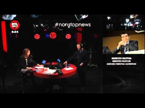 Il Ministro Martina parla di Biorfarm @ RTL 102.5