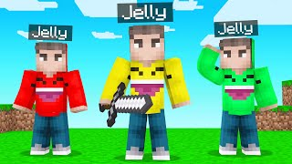 WE ARE ALL JELLY For A DAY In Minecraft!