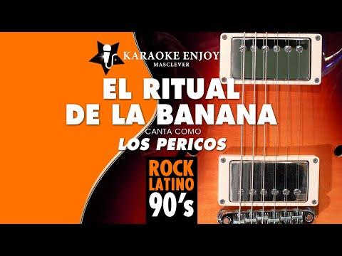 El ritual de la banana - Los Pericos (Version cover Karaoke con letra pintada)