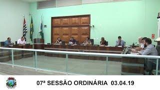 Sessão da Câmara   03.04.19