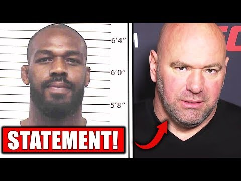 UFC gives statement on Jon Jones arrest, Dana White on Jones, Adesanya reacts to Jon Jones arrest