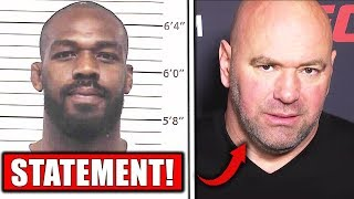 UFC gives statement on Jon Jones arrest, Dana White on Jones, Adesanya reacts to Jon Jones arrest