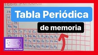 Aprender la tabla peridica fcil rpido y divertido con mnemotecnia como aprenderse la tabla peridica mtodo fcil qumica inorgnica urtaz Choice Image