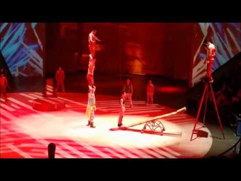 Shanghai ERA Circus acrobats