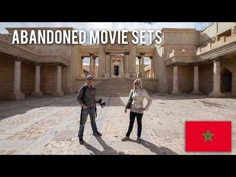 003 Abandoned Movie Sets in Morocco part I