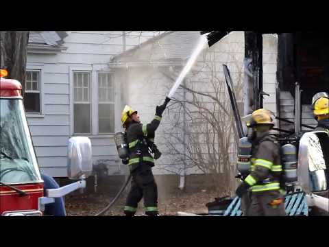House fire, Grandview Ave., Waterloo, Iowa March 15, 2018