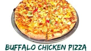 Buffalo Chicken Pizza Recipe by Harika  Episode #63