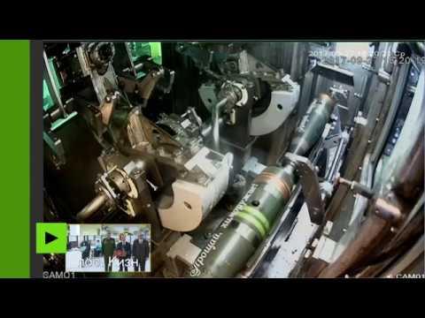 La Russie détruit ses dernières armes chimiques