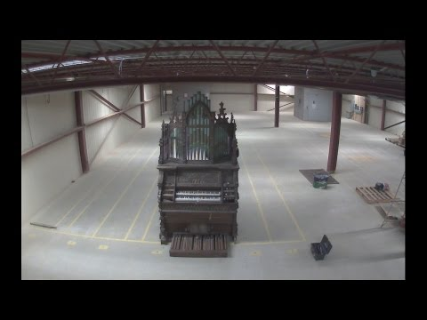 The Disassembly of a Large Reed Organ in 80 Seconds