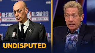 Skip & Shannon on Adam Silver addressing NBA players kneeling during anthem | NBA | UNDISPUTED