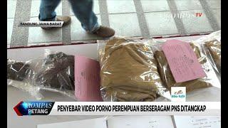 Penyebar Video Porno Perempuan Berseragam ASN Jawa Barat Ditangkap