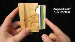 Ilmariwood - Viilupivo - Puinen korttikotelo