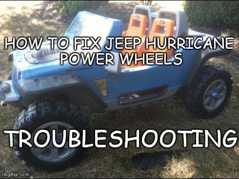 How To Fix Jeep Hurricane Power Wheels  Troubleshooting Jeep