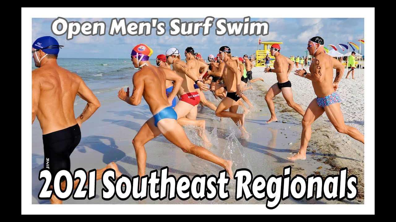 Open Men's Surf Swim - 2021 Southeast Regionals