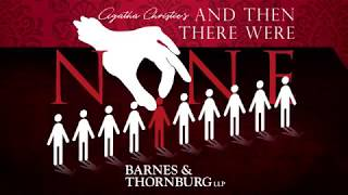 "Booth Tarkington Civic Theatre presents, ""And Then There Were None"""