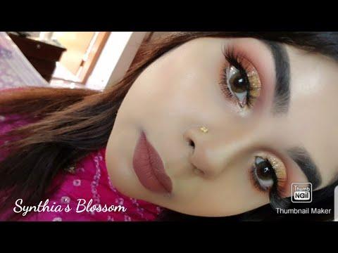 soft cut crease eye makeup tutorial  youtube