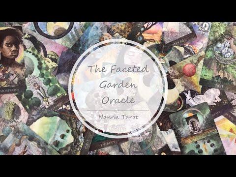 開箱  多面花園神諭卡 • The Faceted Garden Oracle // Nanna Tarot