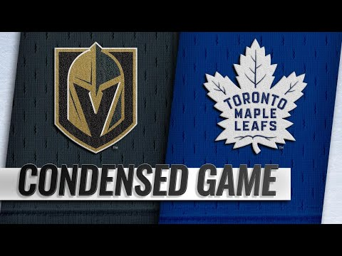 11/06/18 Condensed Game: Golden Knights @ Maple Leafs