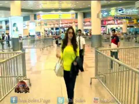 Mai Selim @ Airport - First Time in Kuwait