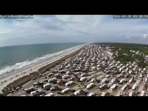 Webcam Tropical Storm Bonnie In Myrtle Beach Sc