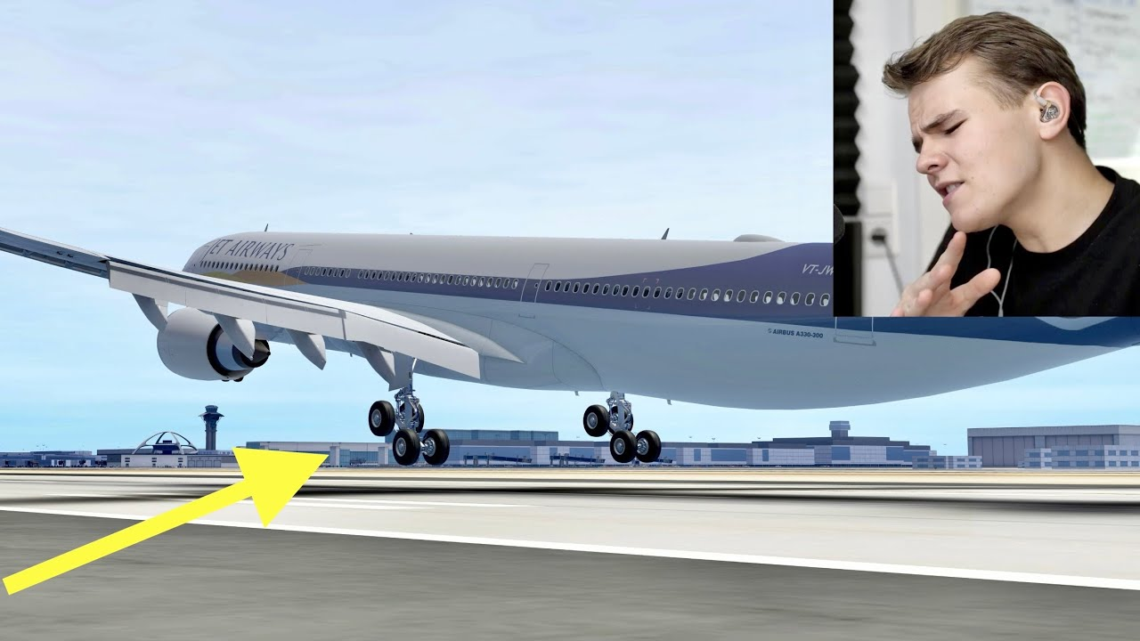 I Failed To Land Smoothly - NEW A330 FOR INFINITE FLIGHT