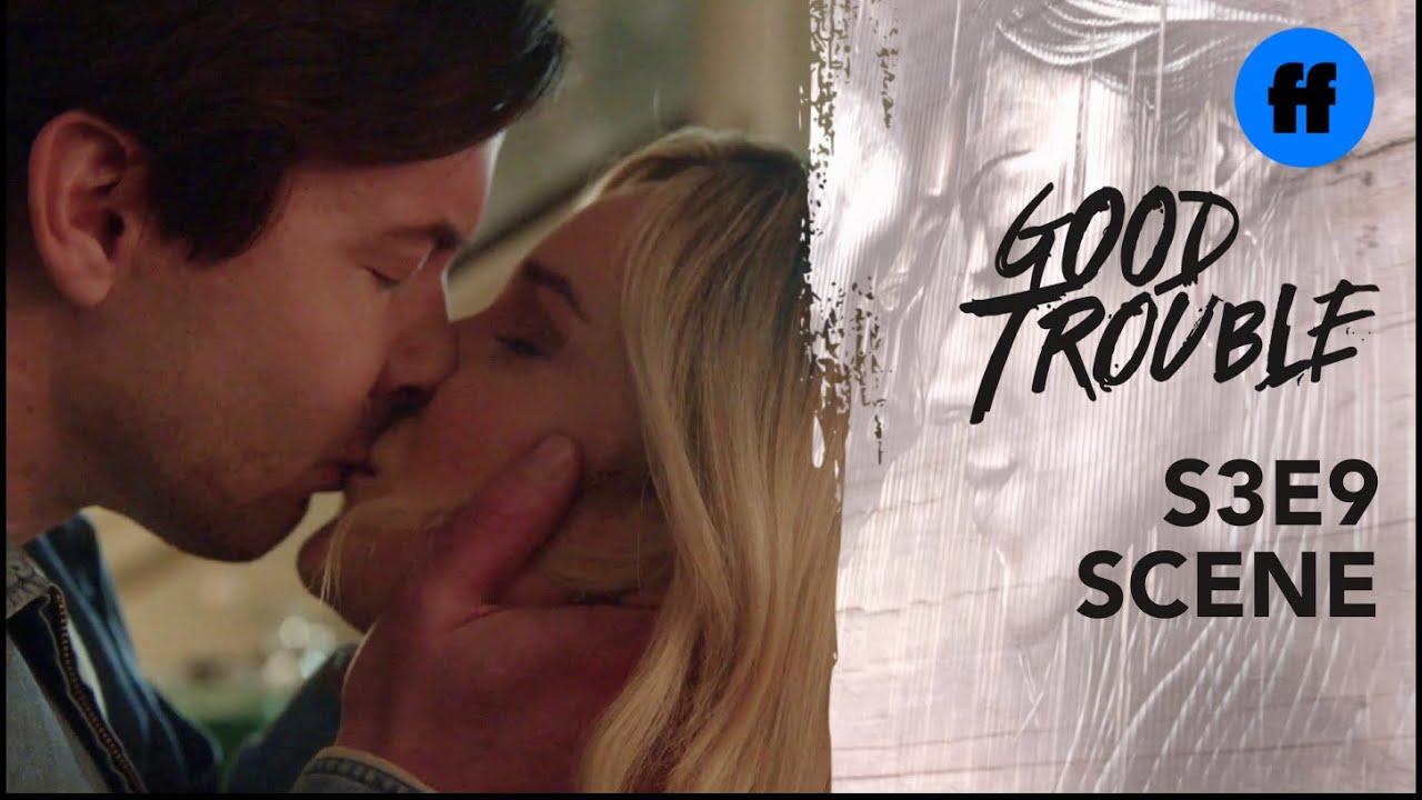 Download Good Trouble Season 3, Episode 9 | Davia & Matt Kiss | Freeform