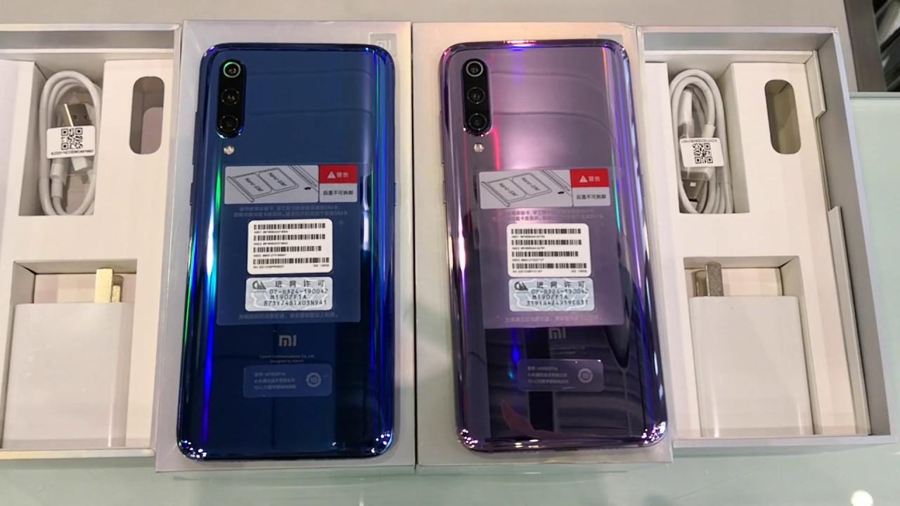 【國恒電訊】 Xiaomi 小米 9 全息幻彩紫,幻彩藍 開箱影片(有售) - YouTube