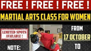 Free women martial arts class in Indirapuram academy | Free women self defense | Free women fitness