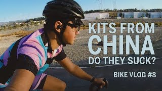 Do All Cycling Kits from China Suck? - Bike Vlog 8