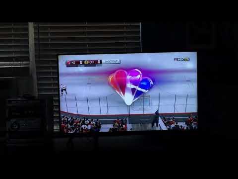 NHL 17 shootout sharks vs Blackhawks