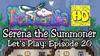 Terraria Summoner Playthrough, Part 20: Prime Time & a Bulb! (1.3 prep let's play)