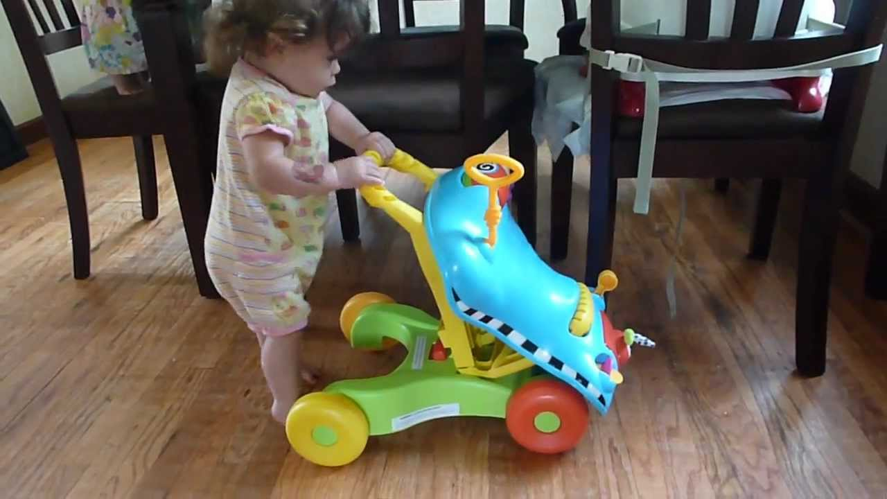 Best Baby Toys For 8 Months Old : Nora kufus walking with a baby walker 9 months old. youtube