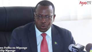 """Siko tayari kukubali walipe kodi""-Waziri Mpango"