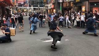 ゴミ拾い侍(時代組婆沙羅)2017.9.24.渋谷センター街GOMI拾い侍SAMURAI thumbnail