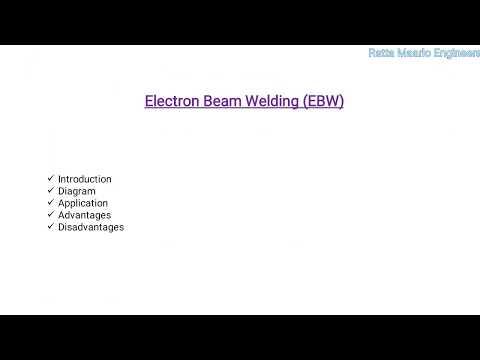 Electron Beam Welding (In Hindi)