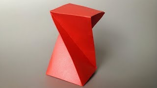 ABC TV | How To Make Twisted Box - Origami Craft Tutorial