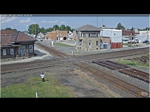 Deshler, OH - Virtual Railfan LIVE