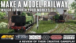 क्रिएटिव ट्रेन गेम्स। आपको कौन सा खरीदना चाहिए? ट्रेनज़, ट्रेन सिम, ईईपी 16, लोको, डीआरएस, ट्रांसपोर्ट फीवर 2 screenshot 2