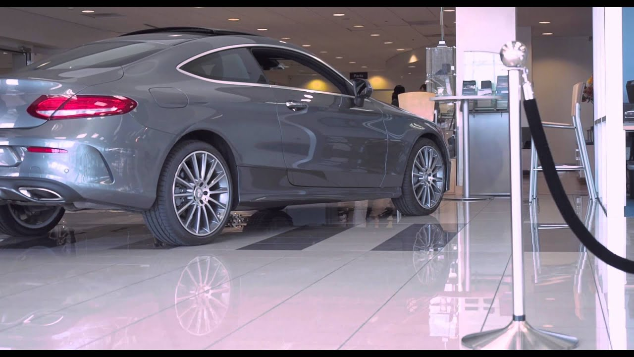 2017 mercedes benz c300 coupe youtube for Mercedes benz downtown portland