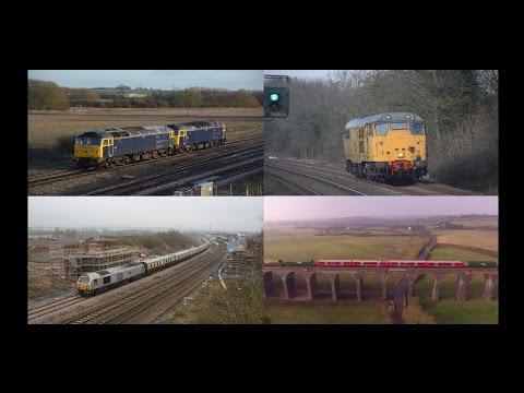 Midlands Motive Power Highlights   February 2017 HD