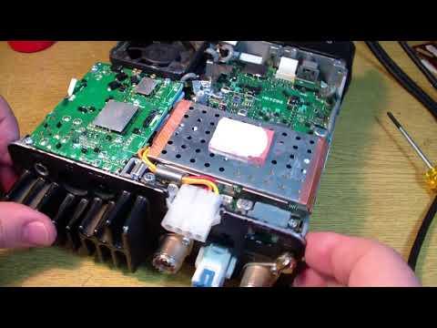 видео: icom ic-7000 на вход приёмника подали 50w (repair)