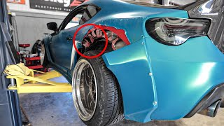 Uncovering Hidden Damage from my Newly-Bought Widebody FRS....